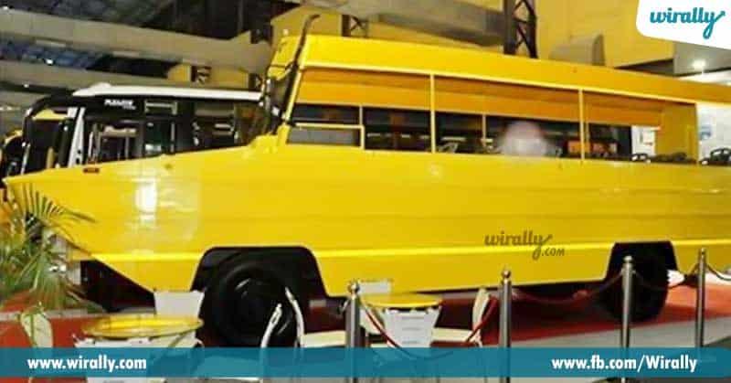 AP Tourism, Bi-Terrain bus,