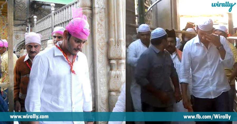 3. Mahesh Babu – Ajmeer Dargah