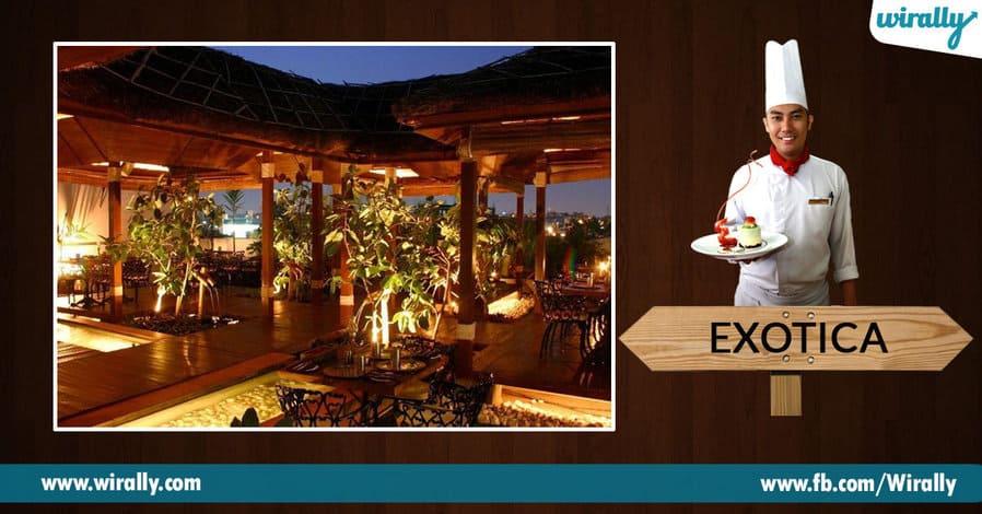 4. Exotica, Banjara Hills