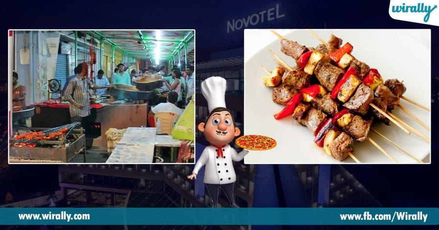5. Roadside Kebabs at MVP Colony.