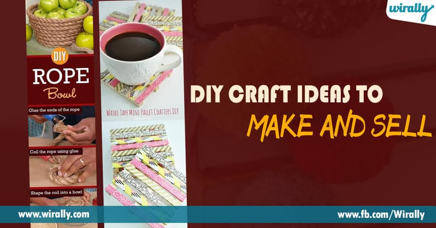 10 diy creative craft ideas to make and sell wirally for Diy project ideas to sell