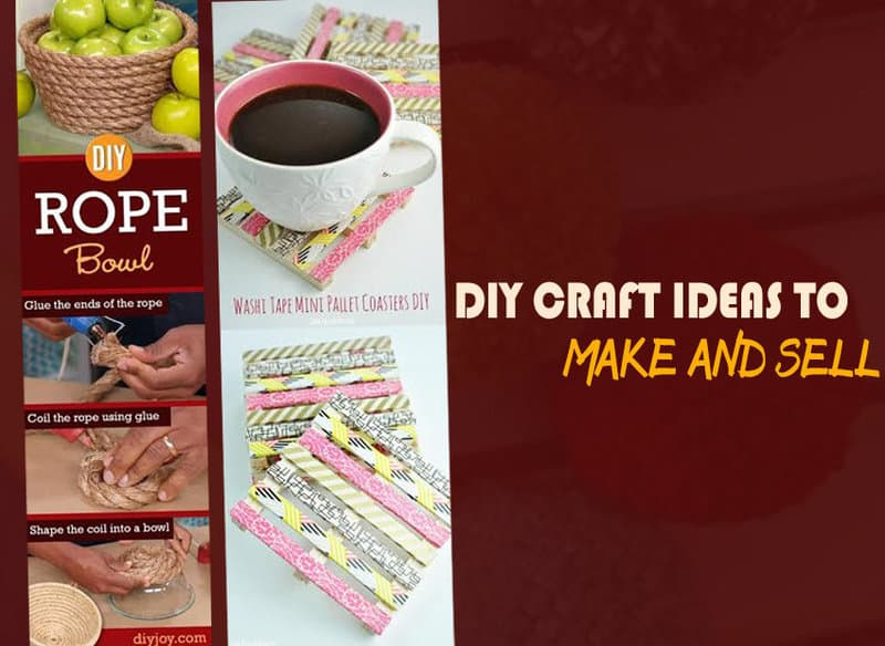 10 DIY Creative Craft Ideas To Make And Sell
