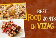 Food,Vizag,gooey pastries, burgers, Muri Mixture,Aratikaya Bajji,Raju Gaari Dhaba,Chicken 555,Roadside Kebabs, MVP Colony,Fish and chips,food truck,puri jaganath temple,The Tribe- Park hotel, classy meal,Chicken Biryani, Hotel Alphaa,Dosas, Pongal, bondas, Sairam Parlour,Momoms, YMCA hall,maha lakshmi tiffin bandi, jail road,Chandu sweets, RTC complex