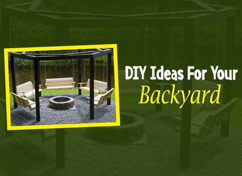 diy ideas to make your backyard interesting wirally