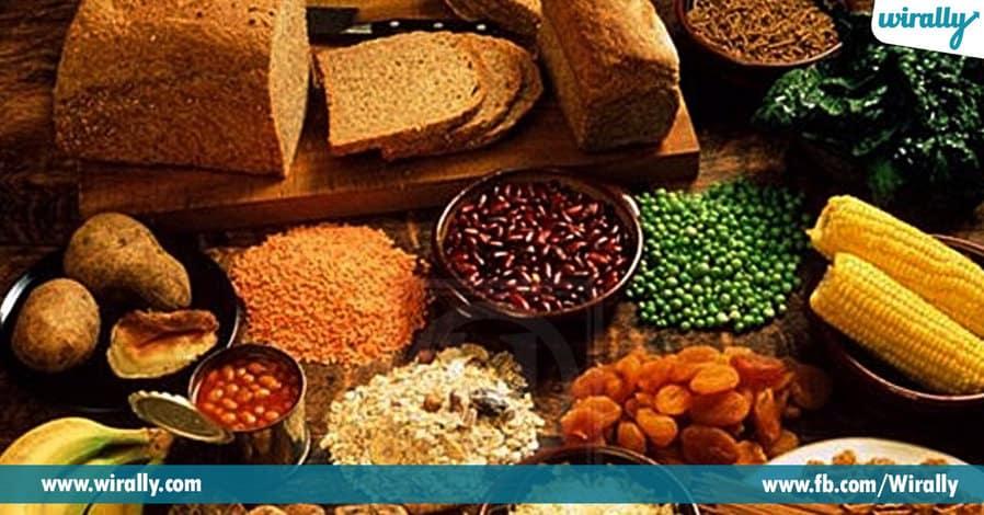 0 fiber rich foods