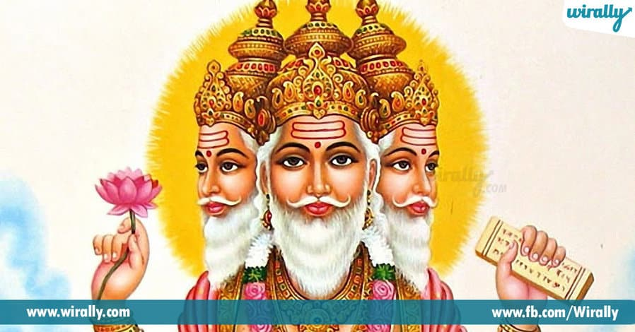 1 Why is Brahma not worshipped