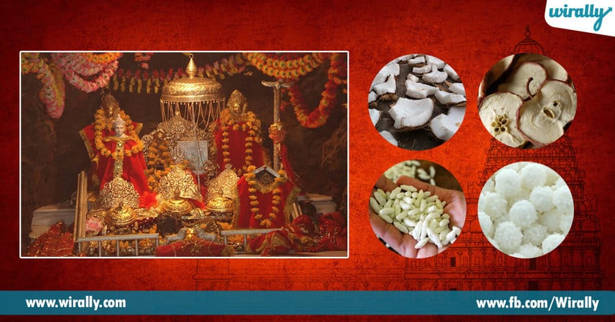 1 prasadams offered in Indian temples