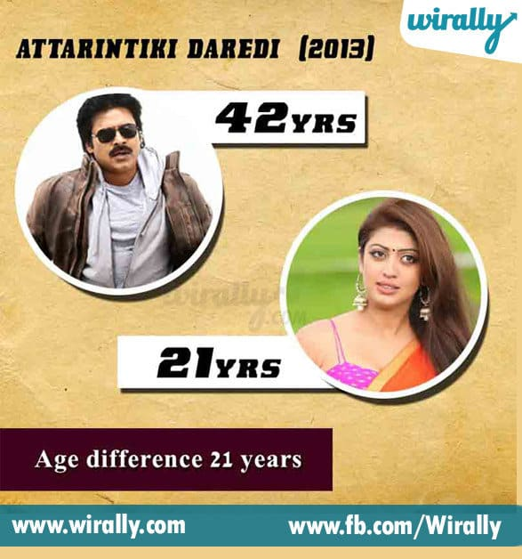 1. Age Difference Between A Hero and Heroine