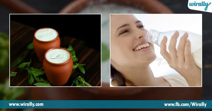 1.Amazing benefits of buttermilk