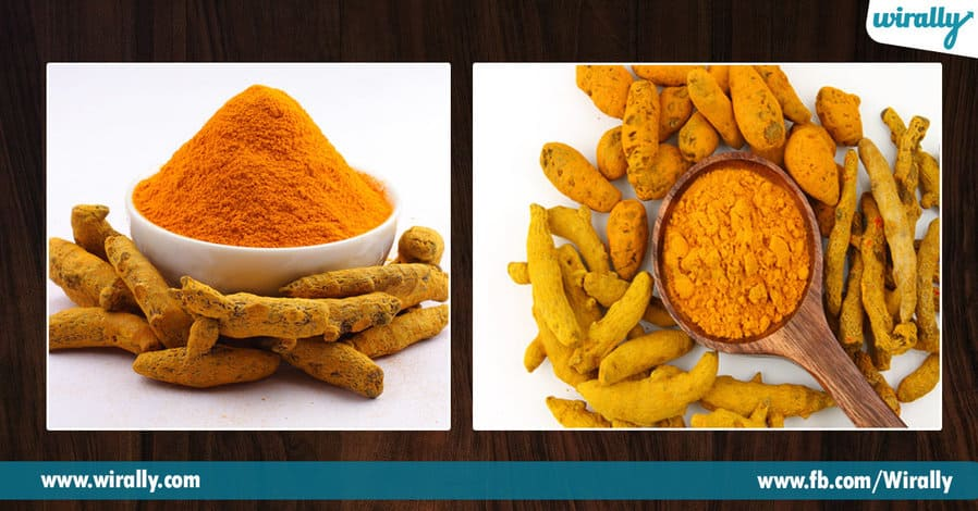 1.turmeric in our food