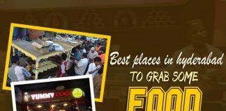 Hyderabad, Food places in Hyderabad, Ram ki Bandi, Cream Stone, Yummy Dogs, Raheja IT Park , Y2K Panjagutta, Charcoal, Madhapur, Nayab Hotel, Santhosh Dhaba Jashn, Hotel Shadab, Friends Shawarma, Nagarjun Circle