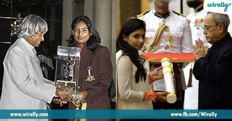 2 Arjuna Award in 2003 and Padma Shri in 2015
