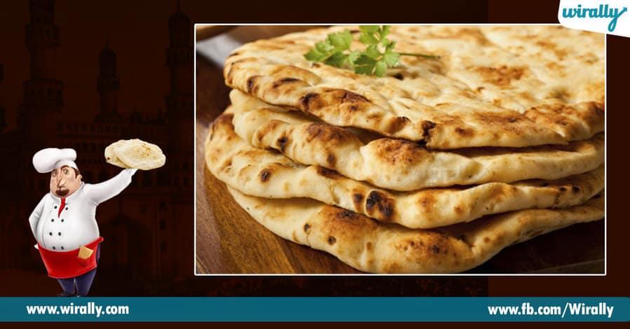 2 Char Koni Naan or Naan ki Roti