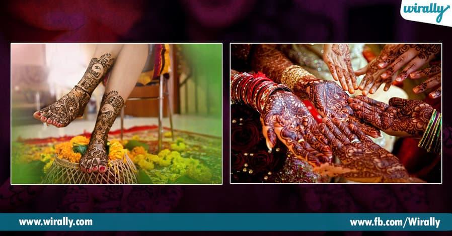 2 The importance of Mehendi in Indian Weddings