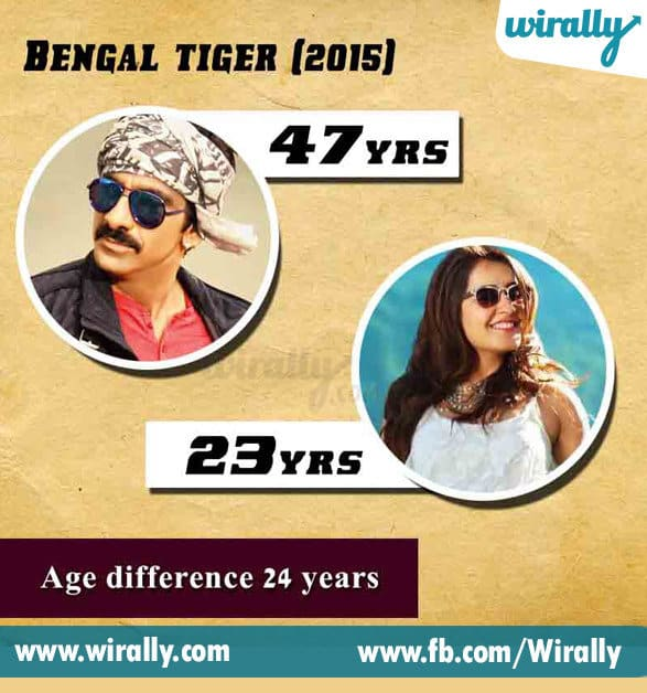 2. Age Difference Between A Hero and Heroine