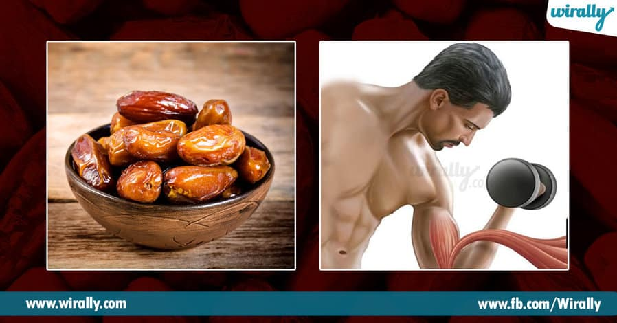 2.Health Benefits of eating dates