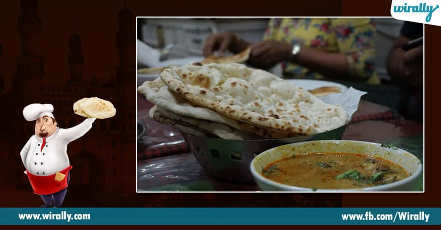 3 Char Koni Naan or Naan ki Roti