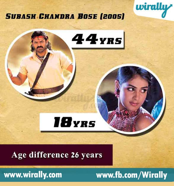 3. Age Difference Between A Hero and Heroine