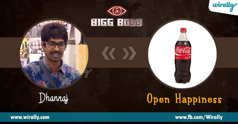 3. Dhanraj – Coca Cola (Open Happiness)
