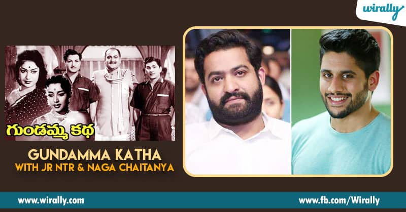 3. Gundamma Katha with Jr NTR and Naga Chaitanya