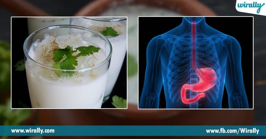 3.Amazing benefits of buttermilk