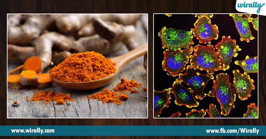 3.turmeric in our food
