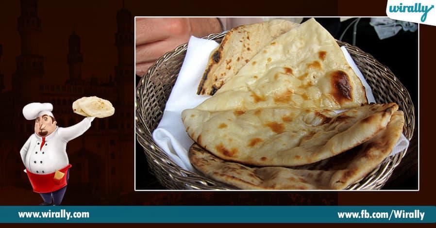 4 Char Koni Naan or Naan ki Roti