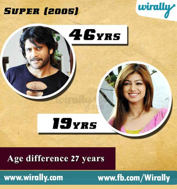 4.. Age Difference Between A Hero and Heroine