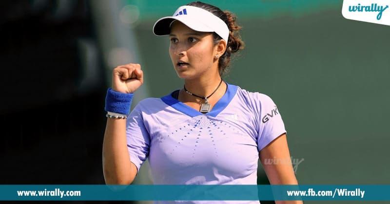 4.Sania Mirza