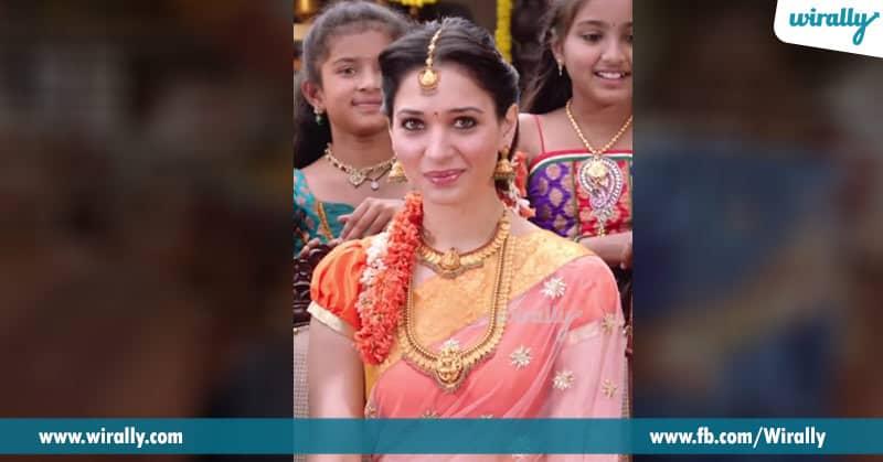 4)Tamannaah in Aagadu