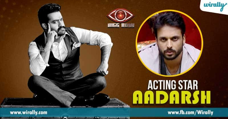 5 Acting star - Aadarsh