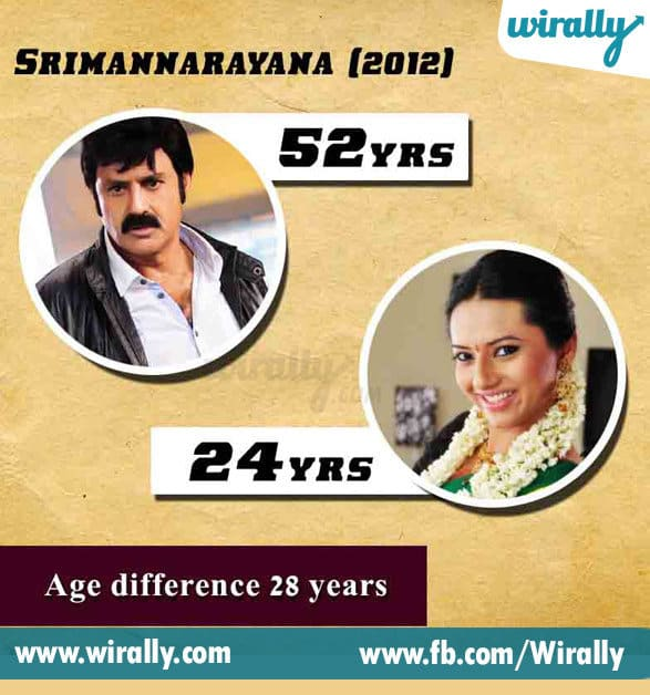 5.Age Difference Between A Hero and Heroine