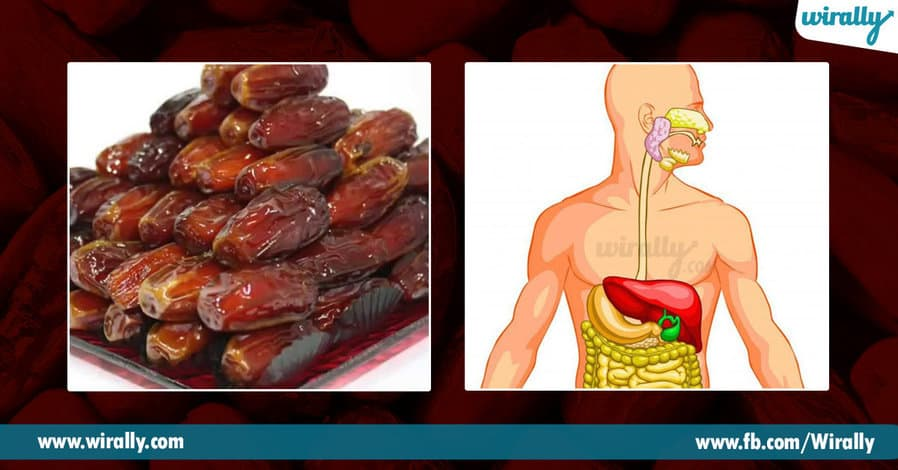 5.Health Benefits of eating dates