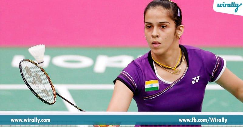 5.Saina Nehwal