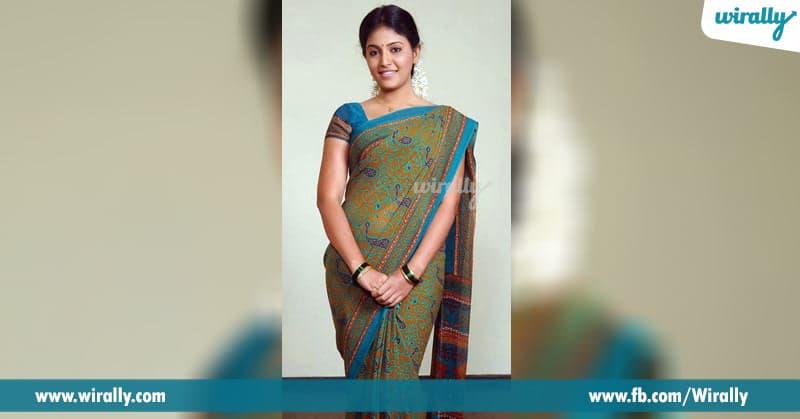 6 Anjali in Seethamma Vakitlo Sirimalle Chettu saree