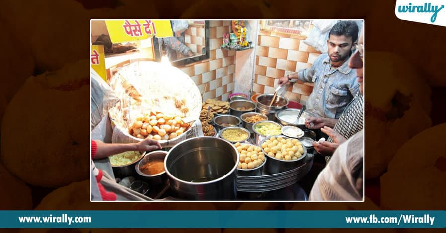 6 Pani Puri places in Hyderabad