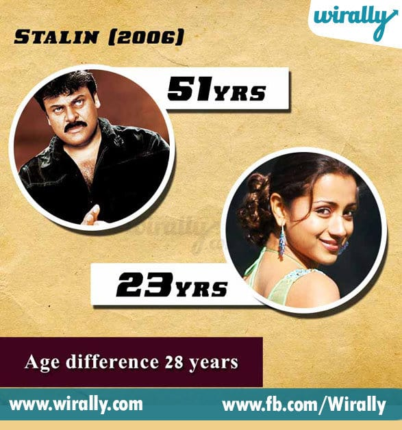 6. Age Difference Between A Hero and Heroine
