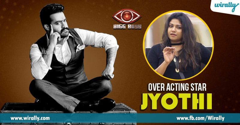 7 over acting star - Jyothii