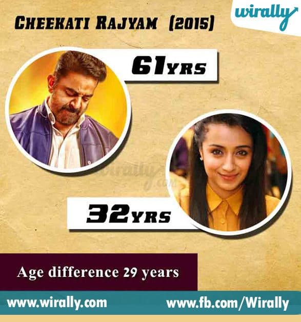 7. Age Difference Between A Hero and Heroine