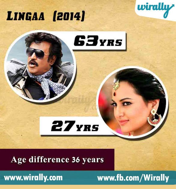 8. Age Difference Between A Hero and Heroine