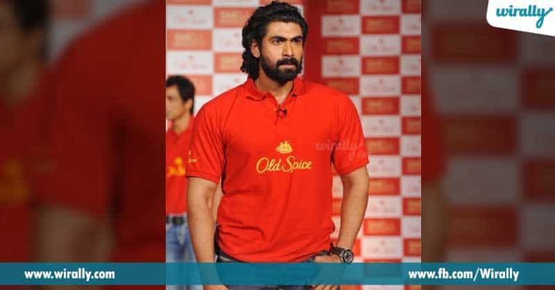 8. Rana while lunching old spice