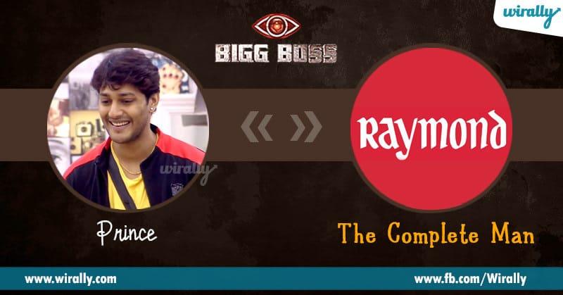 8.Prince – Raymonds
