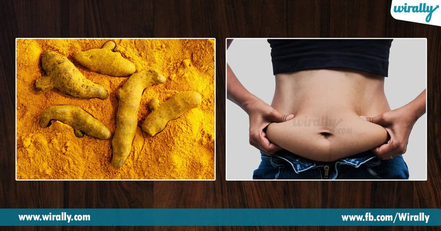 8.turmeric in our food