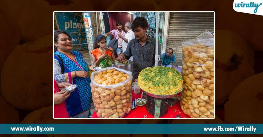 9 Pani Puri places in Hyderabad