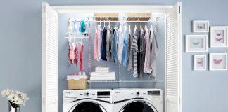 DIY, Laundry Racks, Small Rooms