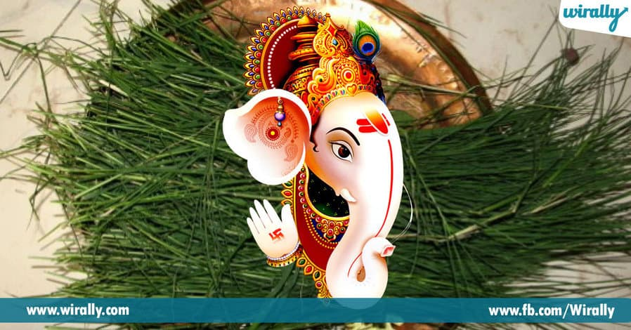 01 Cover Page Importance of Garika Grass during Ganesh Puja