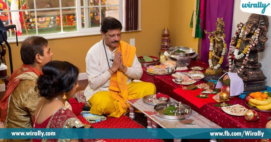 05 Importance of Garika Grass during Ganesh Puja