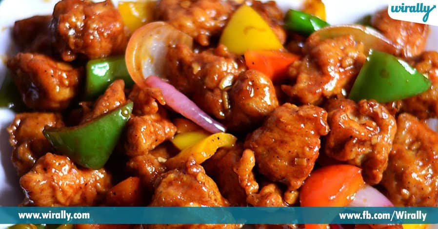 1 Chinese Dishes that are seen only in India