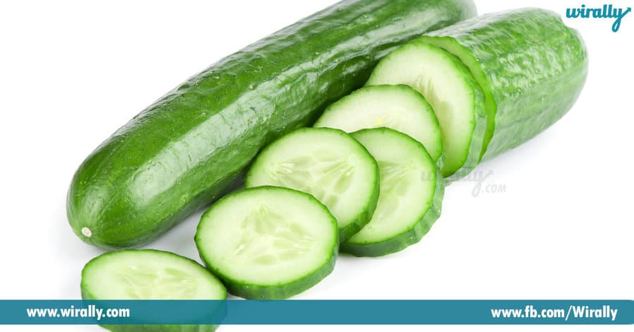 1 cucumber tasty and healthy