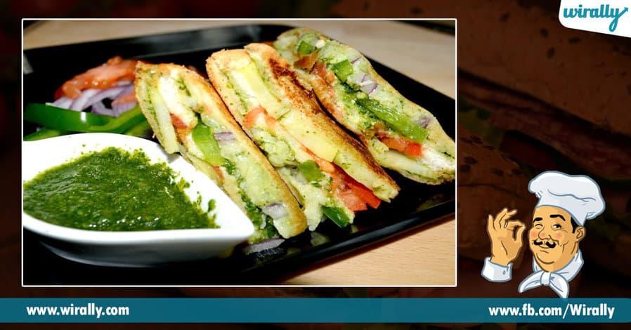1 sandwiches